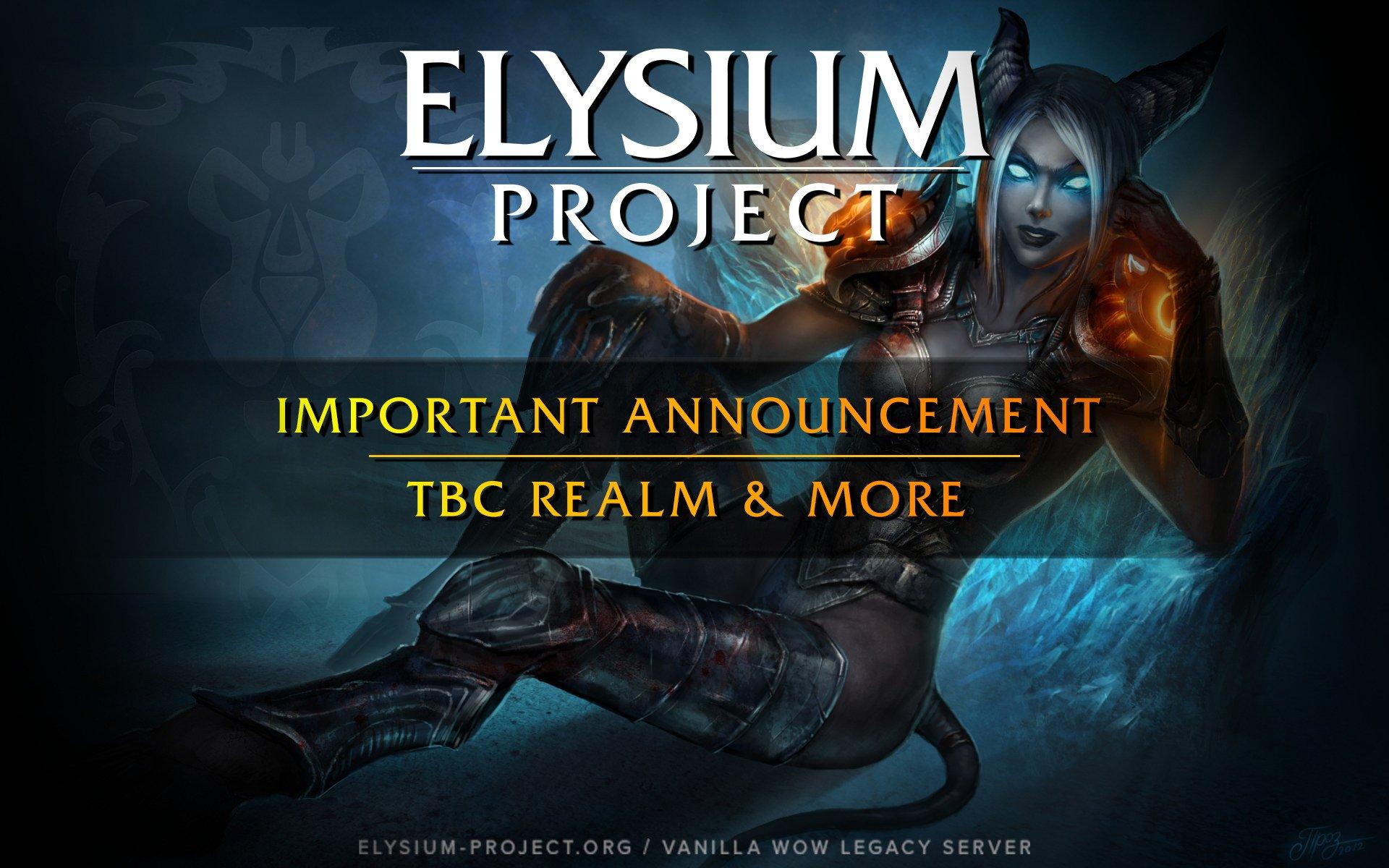 elysium wow realmlist - HD1920×1200